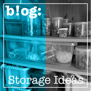 Play Resources Storage Ideas