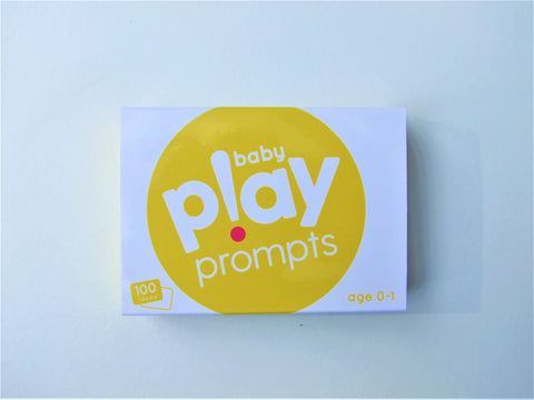 baby playprompts activity cards parents home educational learning ideas play