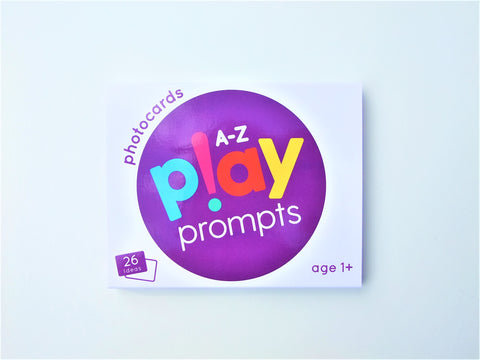 playprompts activity cards ideas play home educational kids preschool parents things to do a-z photocards one year olds