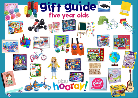 FIVE YEAR OLDS GIFT GUIDE PLAYHOORAY BIRTHDAY