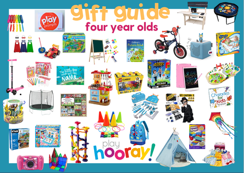 FOUR GIFT GUIDE YEAR OLDS BIRTHDAY PLAYHOORAY