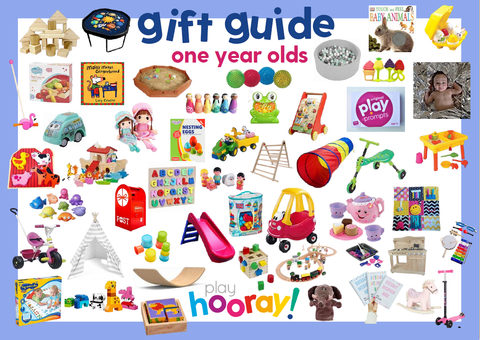 ONE GIFT GUIDE BIRTHDAY PLAYHOORAY YEAR OLDS