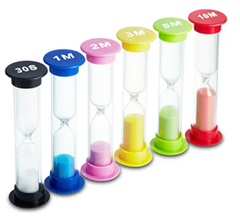 sand timers independent play ideas kids children toddler activity