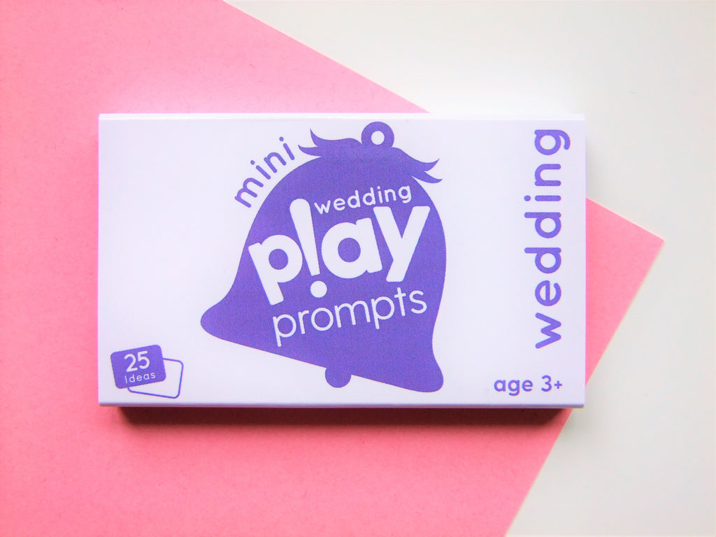 wedding playPROMPTS (mini pack) - playHOORAY!
