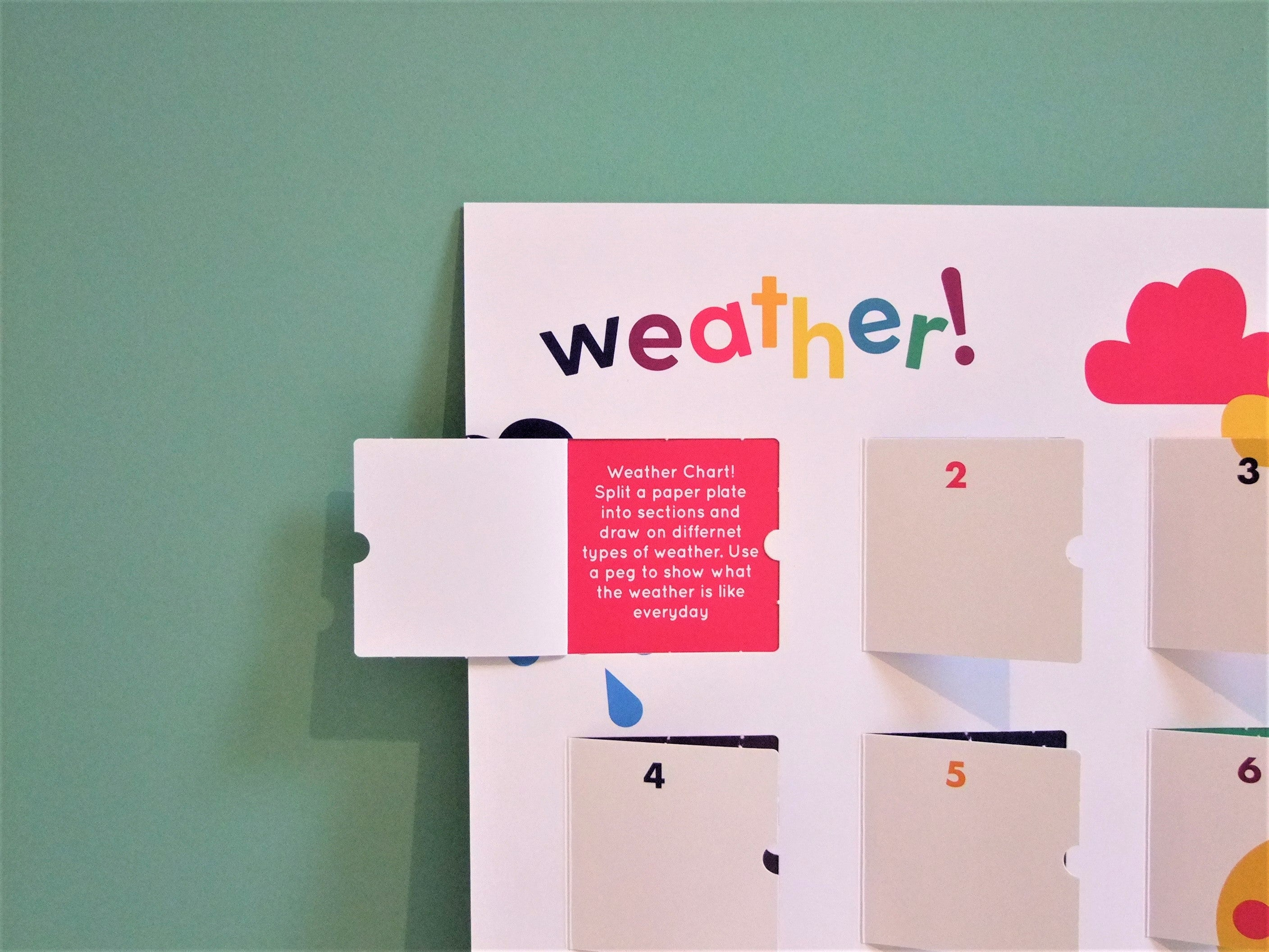 playCALENDAR : Weather (A3) - playHOORAY!