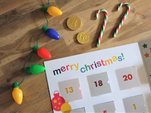 playCALENDAR: Christmas (A3) - playHOORAY!