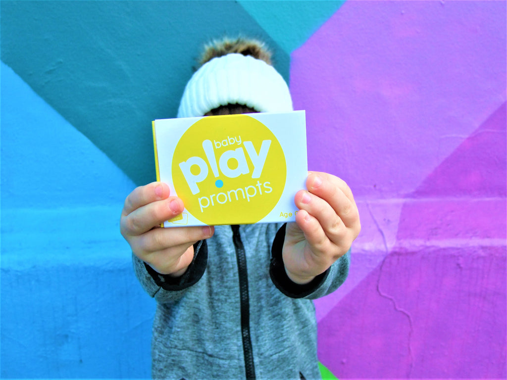 baby play prompts activity cards for newborn to one year olds
