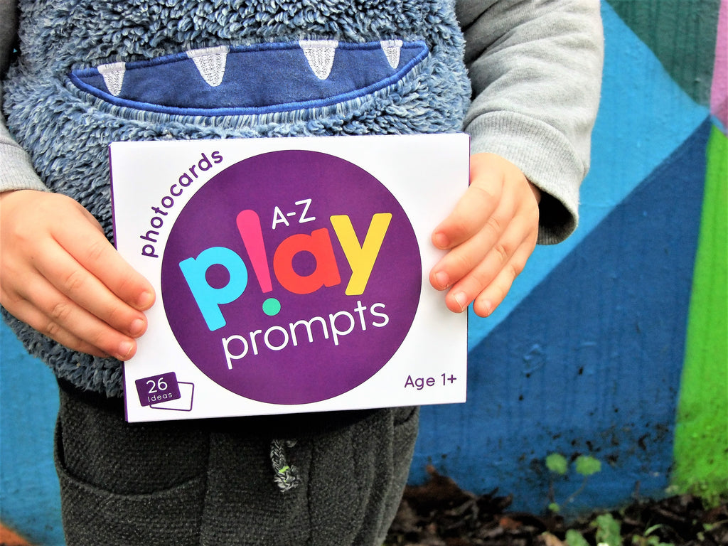 alphabet of activity cards play prompts for preschool children