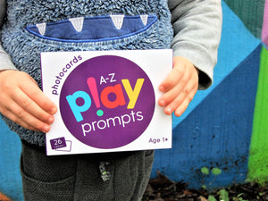 A-Z of playPROMPTS for kids aged 1+ - playHOORAY!