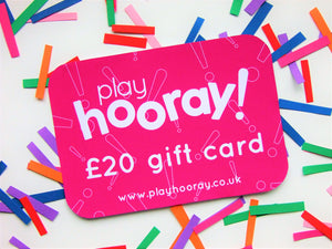 playHOORAY! gift card - playHOORAY!