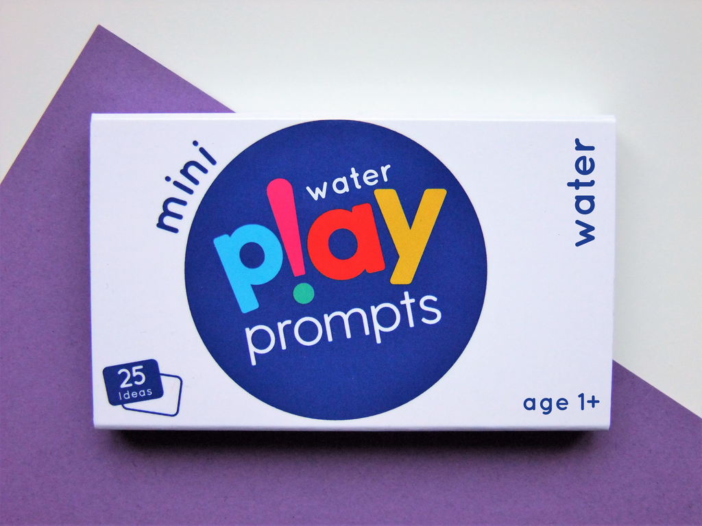 water play prompts activity cards mini pack for preschool children