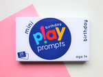 birthday play prompts (mini pack) - playHOORAY!