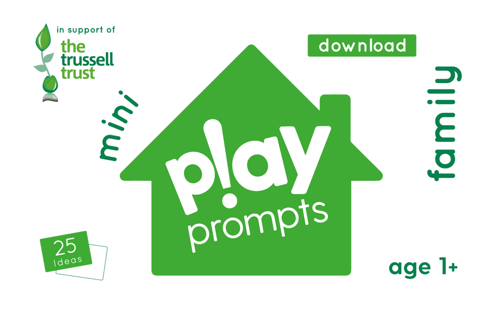 family playPROMPTS (mini pack) in support of the Trussell Trust Charity - playHOORAY!