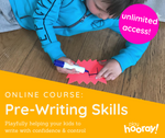 0nline Course: Pre-Writing Skills