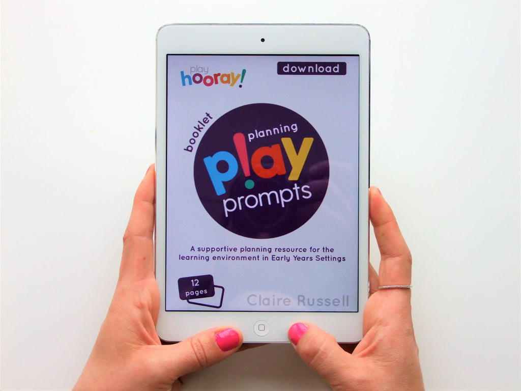 planning playPROMPTS printable - playHOORAY!
