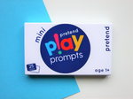 pretend play prompts activity cards mini pack for preschool children role play