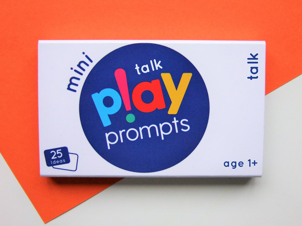 talk play prompts activity cards mini pack for preschool children speech communication