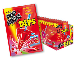 Pop Rocks Dips - Sour Strawberry - Ganje's