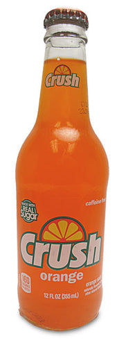 Orange Crush Soda - w/ Real Cane Sugar - Ganje's