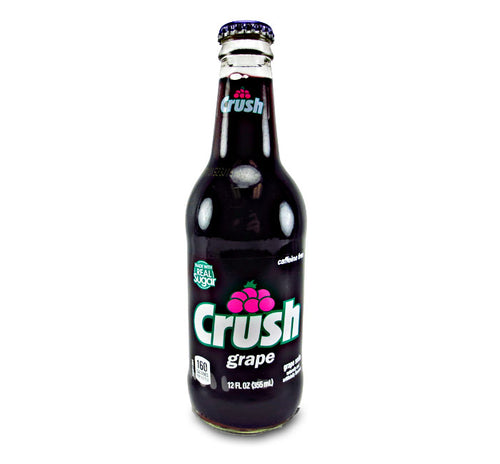 Grape Crush Soda w/ Real Cane Sugar - Ganje's