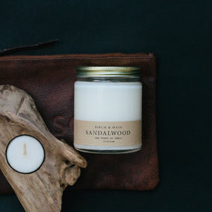 Birch & Main - Soy Candle - Sandalwood - Ganje's