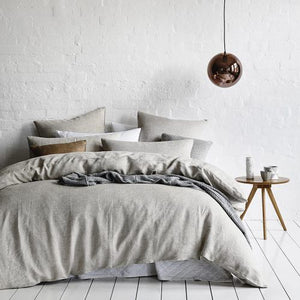French Linen Sheet Set - Fog - Ganje's