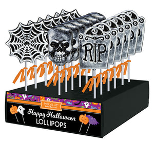 Melville Lollipop - Frosted Halloween Assortment - Ganje's
