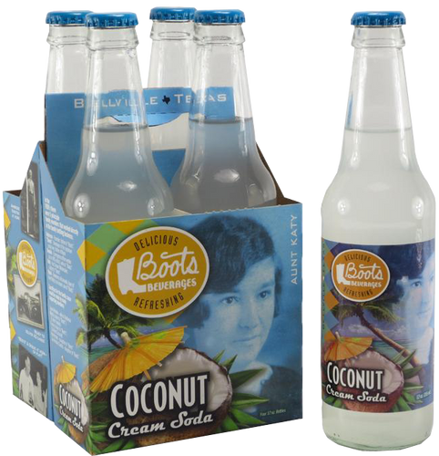 Boots Beverages - Coconut Cream Soda - Ganje's