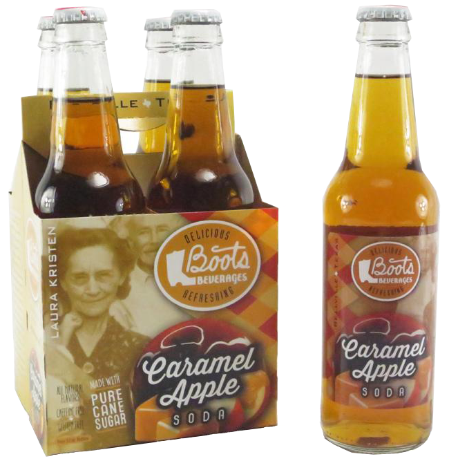 Boots Beverages - Caramel Apple Soda - Ganje's