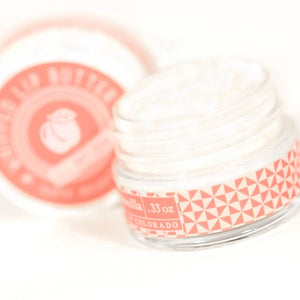 Live Beautifully - Whipped Lip Butter - Peach & Vanilla - Ganje's