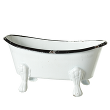 Small Enamel Bathtub Soap Dish - Assorted Colors - Ganje's