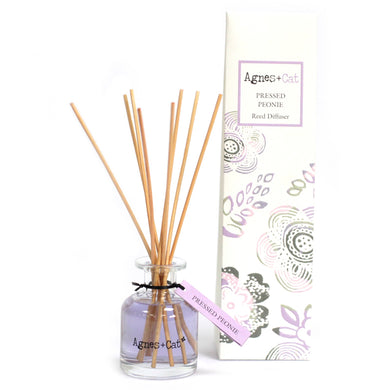 UK - Agnes+Cat - Reed Diffuser - Pressed Peonie - Ganje's