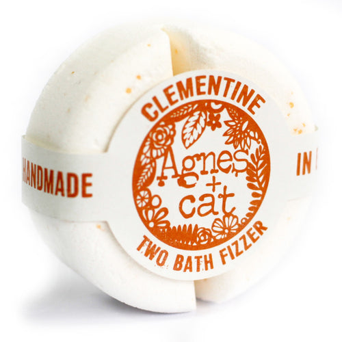 UK - Agnes+Cat - Bath Fizzies - Clementine - Ganje's