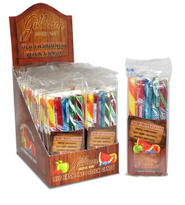 Gilliam Old Fashioned Stick Candy - Fresh Fruity Flavors - Ganje's