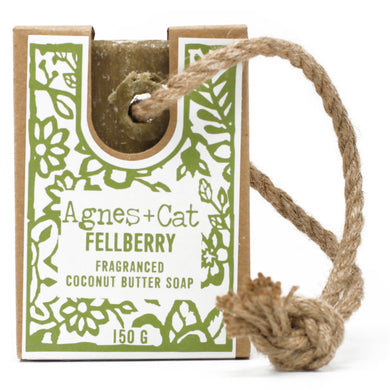 UK - Agnes+Cat - Soap on a Rope - Fellberry - Ganje's