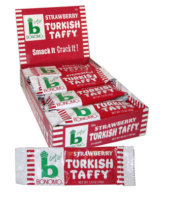 Bonomo Turkish Taffy - Strawberry - Ganje's