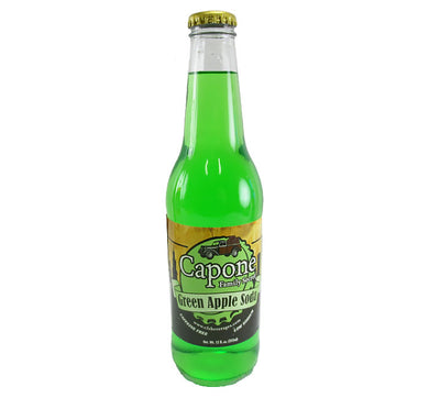 Capone Family Secret  - Green Apple Soda - Ganje's