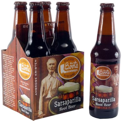 Boots Beverages - Sarsaparilla Root Beer - Ganje's