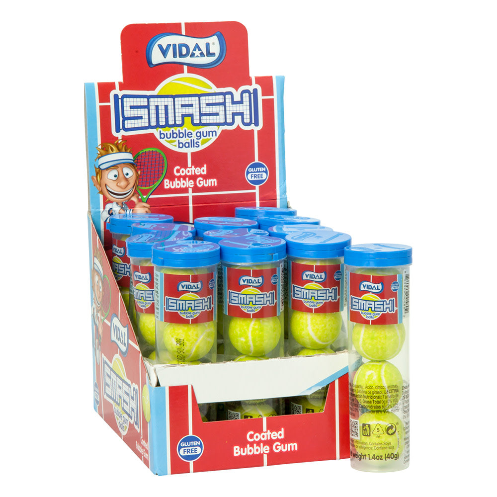 Vidal Bubble Gum - Smash Tennis Balls - Ganje's
