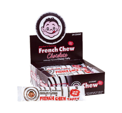 Doscher's Famous French Chew Taffy - Chocolate - Ganje's