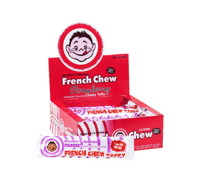 Doscher's Famous French Chew Taffy - Strawberry - Ganje's