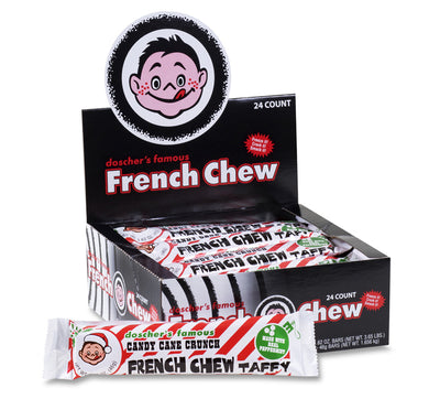 Doscher's Famous French Chew Taffy - Candy Cane Crunch - Ganje's