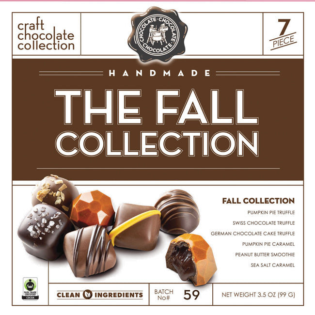 C3 Fall Collection Chocolate Gift Box - Ganje's