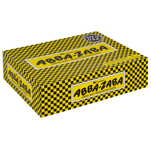 Abba Zaba Chewy Taffy - Peanut Butter Center - Ganje's