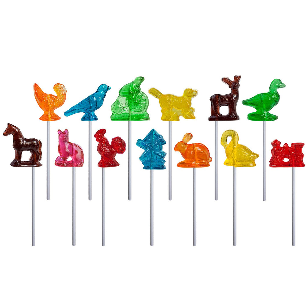 Melville - 3D Barley Lollipop Assortment - Ganje's