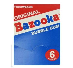 Bazooka Bubble Gum Throwback - Ganje's