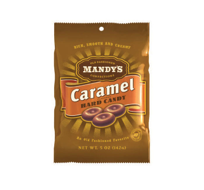 Mandys Old Fashioned - Caramel Hard Candy - Ganje's