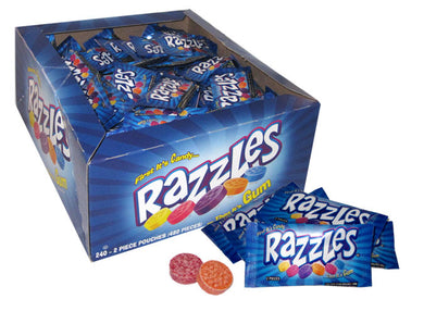 Razzles Gum - Original Assorted - Ganje's