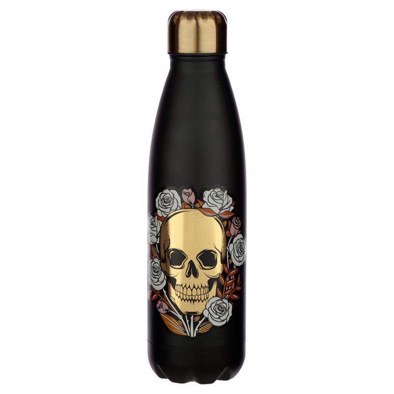 Skulls and Roses Stainless Steel Thermos - Ganje's
