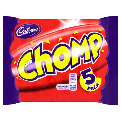 Cadbury UK - 5-Pack - Chomp - Ganje's